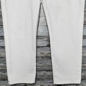 Michael Kors Jeans - Michael Kors | White Cropped Denim Capris | 12